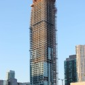 "Libeskind's ""L Tower"" Tops Out (2) ""L Tower"" in progress."