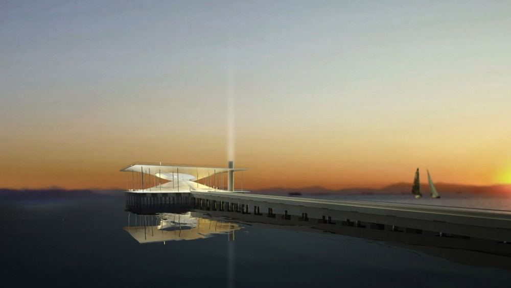 New Landmark for the Faliron Pier Competition Entry / Simos Vamvakidis Studio