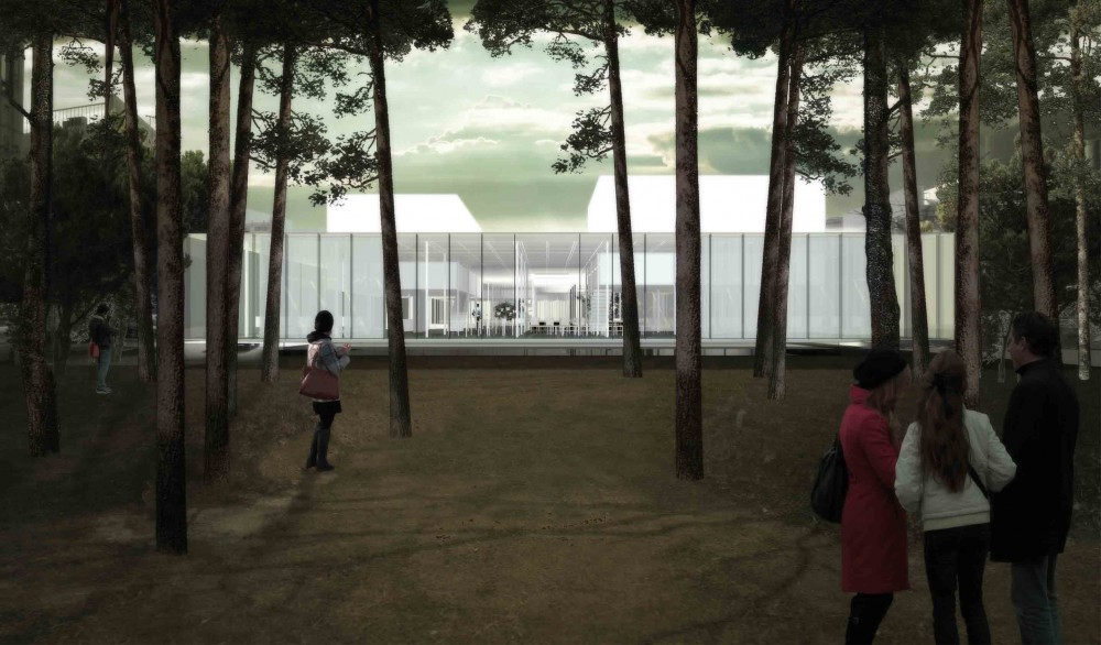 Daegu Gosan Public Library Competition Entry / Gillot + Givry Architectes