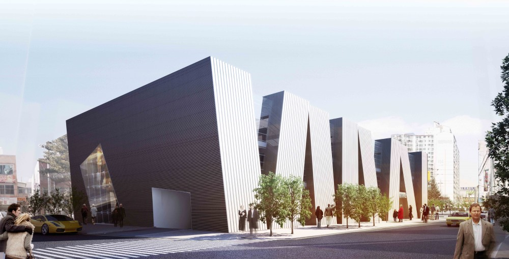 Daegu Gosan Public Library Competition Entry / TheeAe LTD