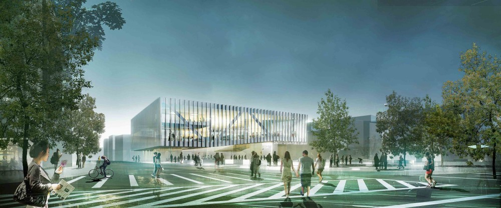 Daegu Gosan Public Library Competition Entry / Group8