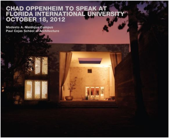 Chad Oppenheim to Speak at Florida International University