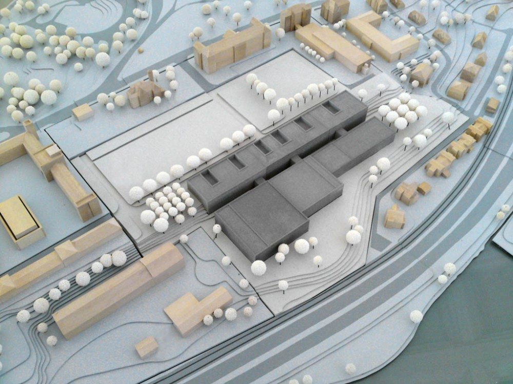 New Building of Depot and Workshops + State Museum Winning Proposal / Scheidt Kasprusch Architekten