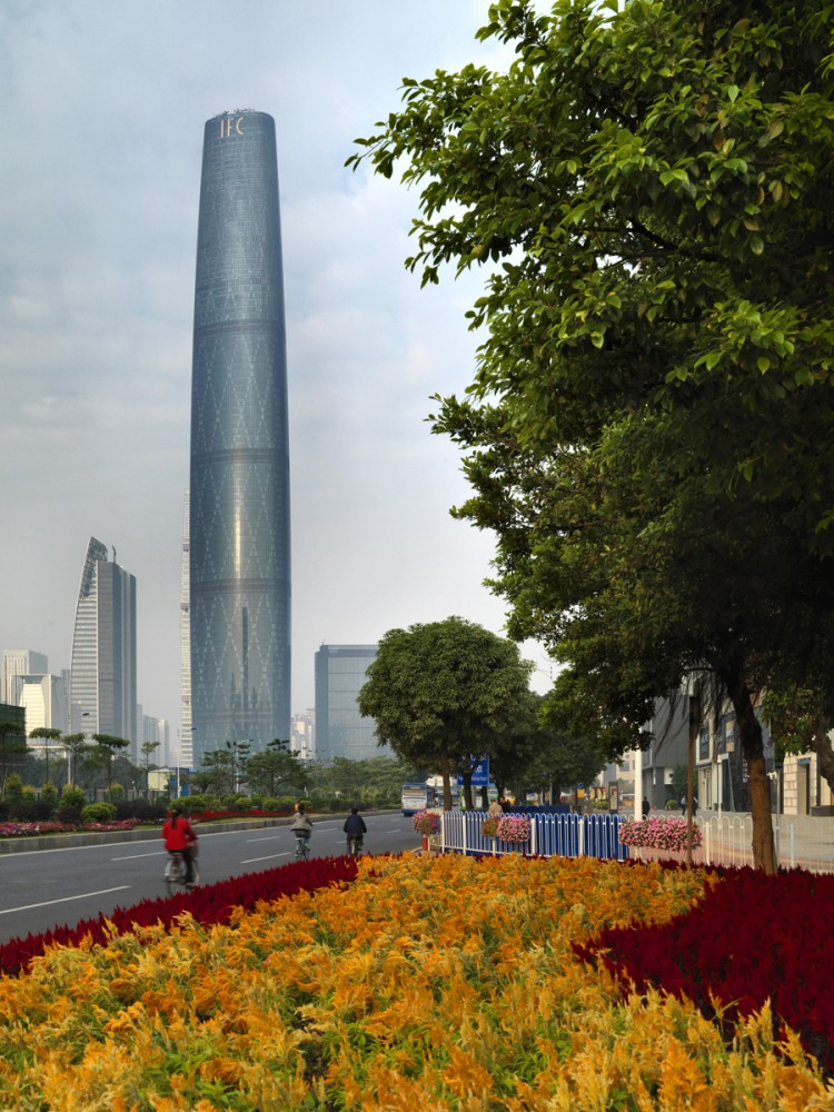 Guangzhou International Finance Centre wins 2012 RIBA Lubetkin Prize