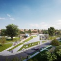 Design unveiled for St. Elizabeths East Gateway Pavilion in D.C. (1) © Davis Brody Bond