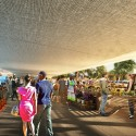 Design unveiled for St. Elizabeths East Gateway Pavilion in D.C. (5) Market Place © Davis Brody Bond