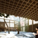 Daegu Gosan Public Library Competition Entry / MenoMenoPiu Architects (4) Courtesy of MenoMenoPiu Architects