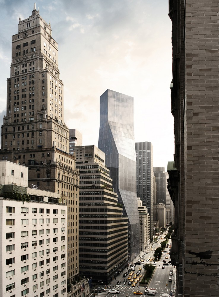 425 Park Avenue: OMA&#8217;s proposal