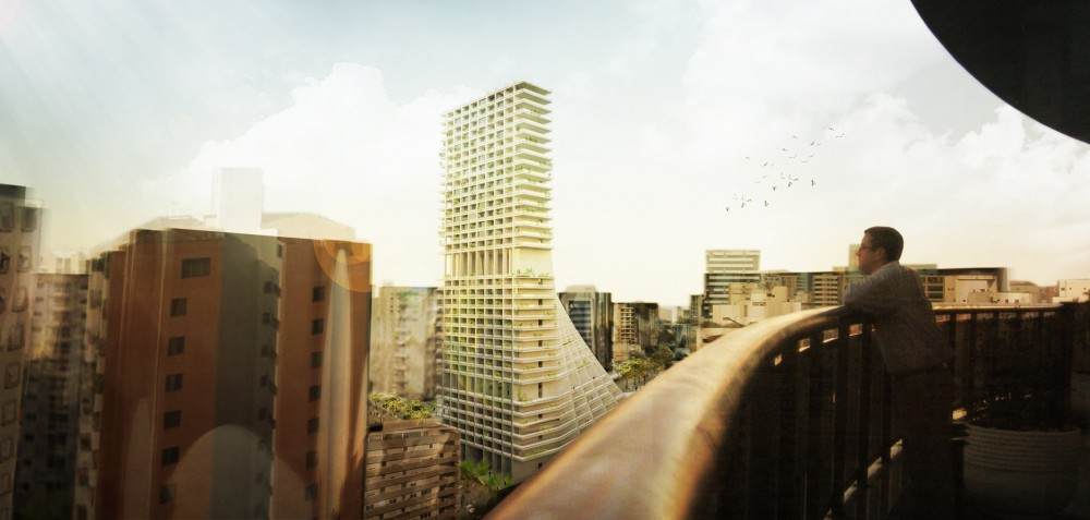 Piratininga So Paulo High-Rise Housing Proposal / OODA