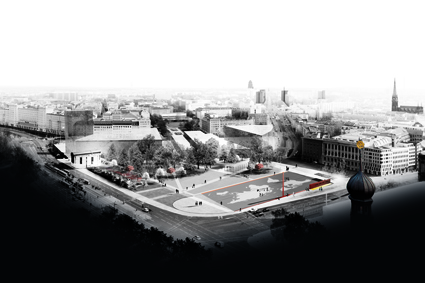 Leipzig Freedom and Unity Memorial Competition Entry / Mateo Arquitectura