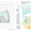Daegu Gosan Public Library Competition Entry (8) plans