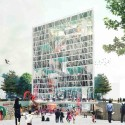 Daegu Gosan Public Library Competition Entry (2) Courtesy of STL Architects