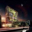 Daegu Gosan Public Library Competition Entry (1) Courtesy of STL Architects