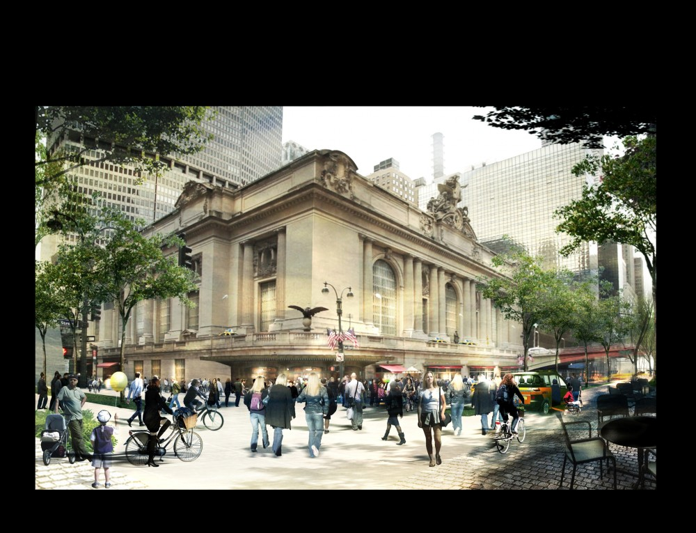 Foster + Partners re-imagines New York's Iconic Grand Central Station