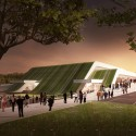 Multi-Purpose Sports Hall Competition Entry (1) © vvv-visual.com