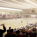 Multi-Purpose Sports Hall Competition Entry (4) © vvv-visual.com