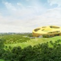 WORKac to design new Assembly Hall in Central Africa (1) © WORKac