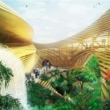 WORKac to design new Assembly Hall in Central Africa (3) Interior © WORKac