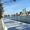 Kahn's FDR Four Freedoms Park Opens Tomorrow in NYC!  (10) © Diane Bondareff / Four Freedoms Park