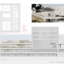 A.M. Qattan Foundation Bulding Winning Proposal (14) elevation