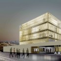 A.M. Qattan Foundation Bulding Winning Proposal (1) Courtesy of Donaire Arquitectos