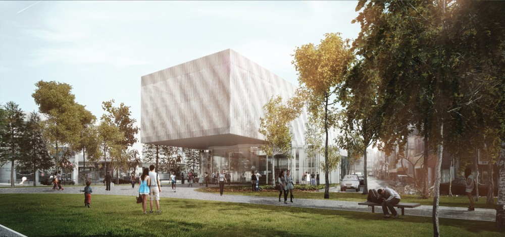 Daegu Gosan Public Library Competition Entry / FORMA