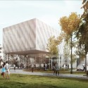 Daegu Gosan Public Library Competition Entry (2) Courtesy of FORMA