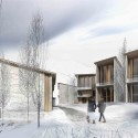 Zaarour Club Resort Second Prize Winning Proposal (3) Courtesy of 109 Architectes