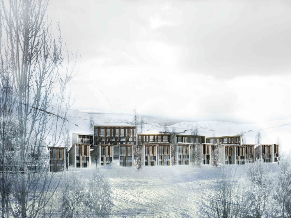 Zaarour Club Resort Second Prize Winning Proposal / 109 Architectes