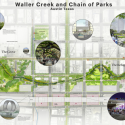 "MVVA and Thomas Phifer to transform Austin's downtown with Waller Creek redesign  (4) Waller Creek ""Chain of Parks"" © MVVA and Thomas Phifer"
