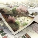 DQZ Cultural Center Proposal (4) Courtesy of Holm Architecture Office + AI