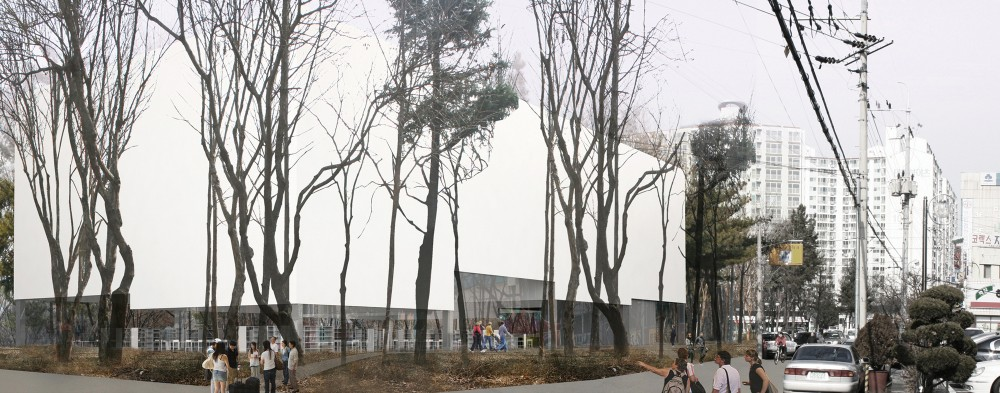 Daegu Gosan Library Competition Winning Proposal / Gorka Blas