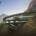 Yading Cliff Building Competition Entry (4) Courtesy of ELEV