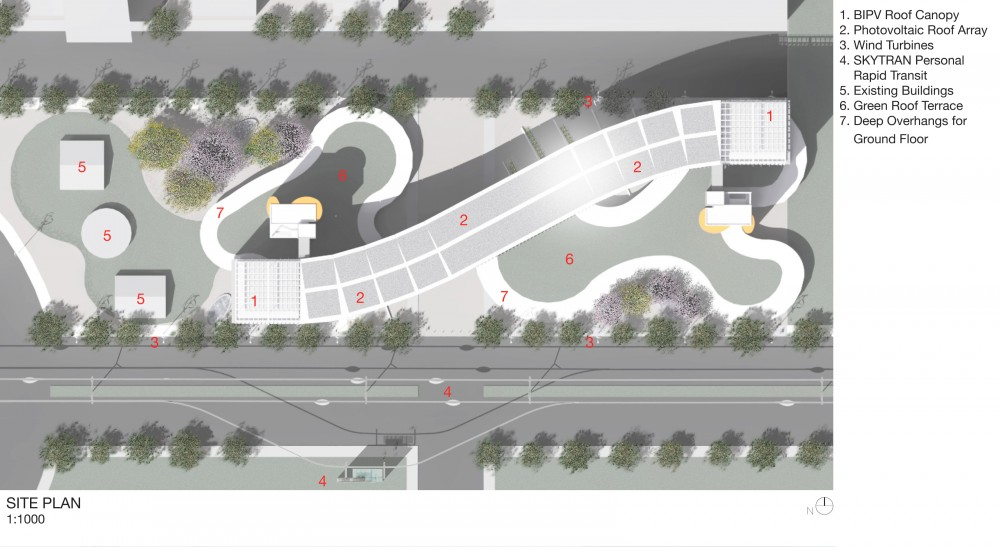 'Silver Streak' Architecture At Zero 2012 Competition Winning Proposal / Loisos + Ubbelohde Associates