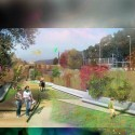 Collserola Park Competition Entry (3) General Boulevard ./ Courtesy of Nabito Architects + ACTAR