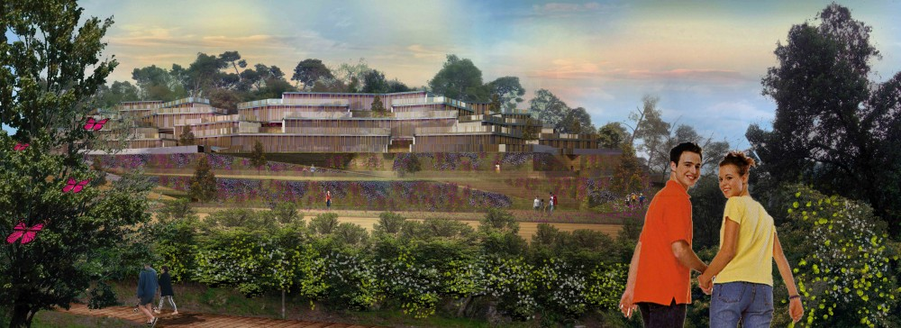 Collserola Park Competition Entry / Nabito Architects + ACTAR