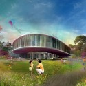Collserola Park Competition Entry (2) Mixed-Use Building 02 ./ Courtesy of Nabito Architects + ACTAR