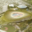 Finalists announced for Japan's New National Stadium  (11) gmp.International GmbH Entry No.35 - Courtesy of Japan Sport Council