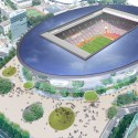 Finalists announced for Japan's New National Stadium  (9) Toyo Ito & Associates, Architects Entry No. 33 - Courtesy of Japan Sport Council