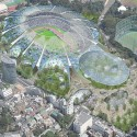 Finalists announced for Japan's New National Stadium  (8) Azusa Sekkei Co., Ltd. Entry No. 32 - Courtesy of Japan Sport Council