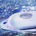 Finalists announced for Japan's New National Stadium  (6) Tabanlioglu Architects Consultancy Limited Company Entry No.24 - Courtesy of Japan Sport Council