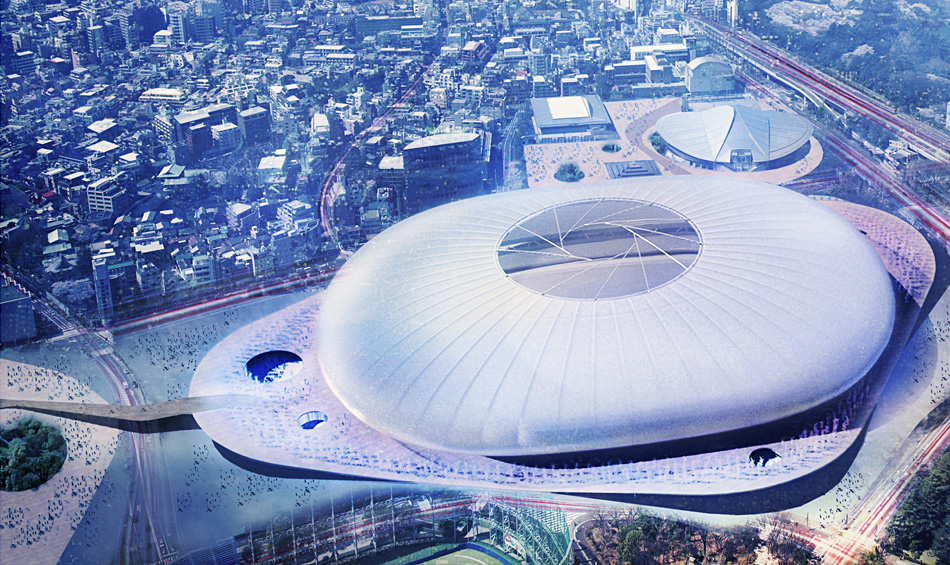 Finalists announced for Japan's New National Stadium
