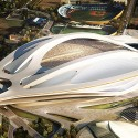 Finalists announced for Japan's New National Stadium  (4) Zaha Hadid Architects Entry No.17 - Courtesy of Japan Sport Council