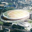Finalists announced for Japan's New National Stadium  (3) UNStudio / Yamashita Sekkei Inc. Entry No.12 - Courtesy of Japan Sport Council