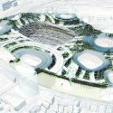 Finalists announced for Japan's New National Stadium  (2) Populous Entry No.9 - Courtesy of Japan Sport Council