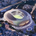 Finalists announced for Japan's New National Stadium  (1) Cox Architecture pty LTD Entry No.2 - Courtesy of Japan Sport Council