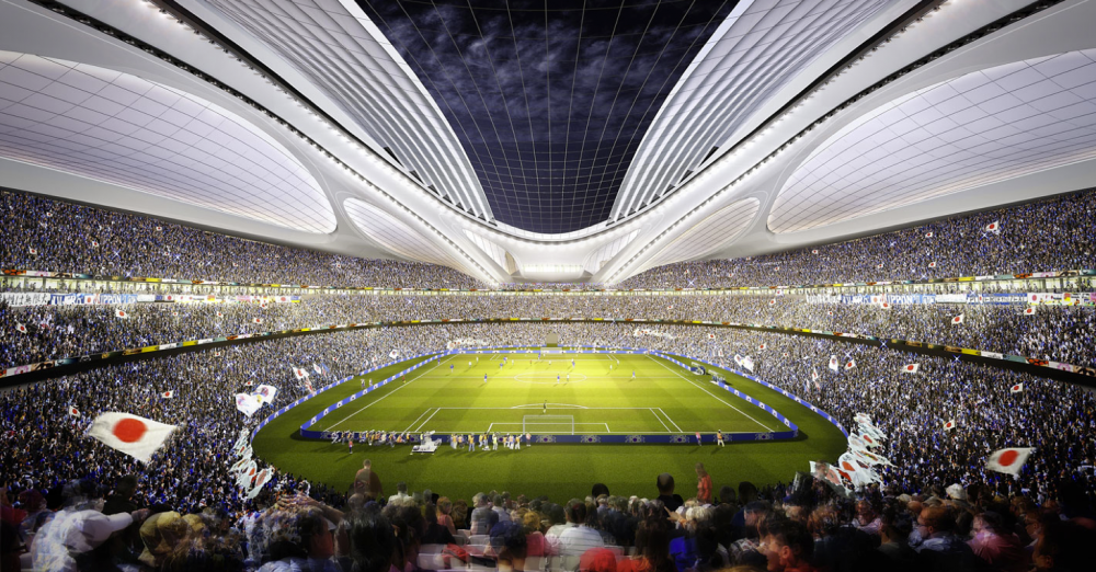 Finalists announced for Japans New National Stadium