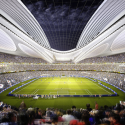 Finalists announced for Japan's New National Stadium  (5) Zaha Hadid Architects Entry No.17 - Courtesy of Japan Sport Council