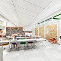SOM breaks ground on New York's First Net Zero Energy School (5) Classroom © SOM