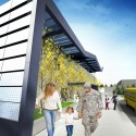 SOM breaks ground on New York&#039;s First Net Zero Energy School (2) Drop-off  SOM